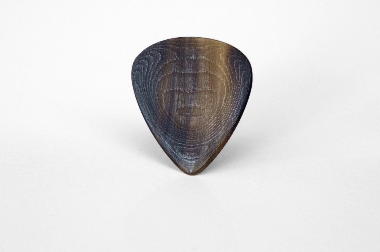 Special Custom Guitar Pick • For Bass, Guitar and Mandolin • Horn Pick / Horn Plectrum